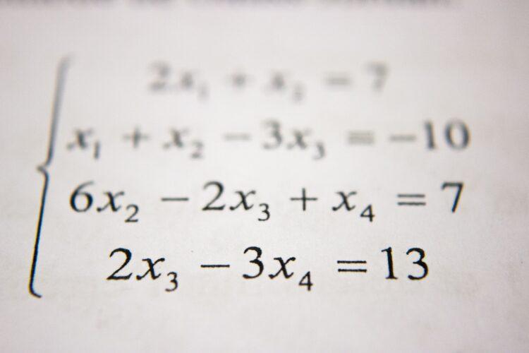 Complicated math formulas